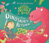 Omslag - Sir Charlie Stinky Socks: The Dinosaur's Return