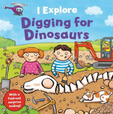 I Explore Digging for Dinosaurs av Dr. Mike Goldsmith (Pappbok)
