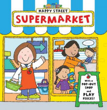 Happy Street: Supermarket (Pappbok)