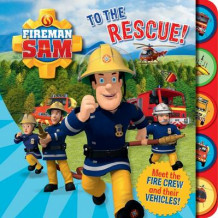 Fireman Sam: To the Rescue! Tabbed Board Book (Pappbok)