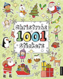 Christmas 1001 Stickers (Heftet)