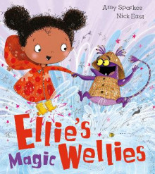 Ellie's Magic Wellies av Amy Sparkes (Heftet)