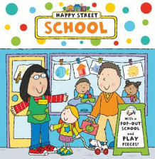 Happy Street: School (Pappbok)