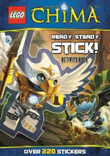 LEGO Chima: Ready, Steady, Stick!: Sticker Activity Book (Heftet)