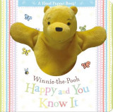 Omslag - Winnie the Pooh: Happy and You Know it Hand Puppet Book