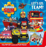 Omslag - Fireman Sam: Let's Go Team! Pop-Out Play Book