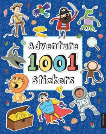 Adventure 1001 Stickers (Heftet)