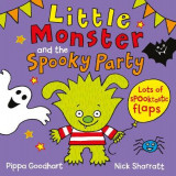 Omslag - Little Monster and the Spooky Party