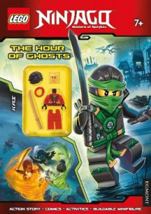 LEGO Ninjago the Hour of Ghosts: Activity Book with Minifigure (Heftet)