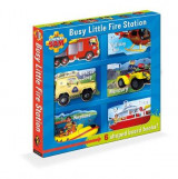 Omslag - Fireman Sam: Busy Little Fire Station