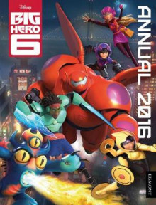 Disney Big Hero 6 Annual 2016 av Egmont UK Ltd (Innbundet)