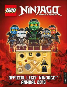 The Official LEGO Ninjago Annual 2016 av Egmont UK Ltd (Innbundet)
