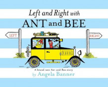 Left and Right with Ant and Bee av Angela Banner (Innbundet)
