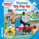 Omslag - Thomas & Friends: Thomas' Big Pop-Up Journey