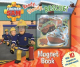 Omslag - Fireman Sam: Ready, Steady, Rescue! Magnet Book