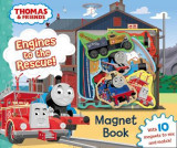 Omslag - Thomas & Friends: Engines to the Rescue! Magnet Book