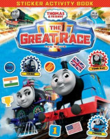 Omslag - Thomas & Friends: The Great Race Movie Sticker Book