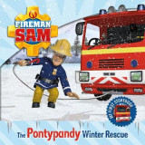 Omslag - Fireman Sam: My First Storybook: The Pontypandy Winter Rescue