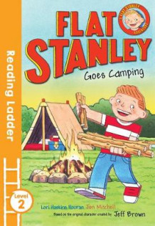 Flat Stanley Goes Camping av Jeff Brown (Heftet)