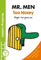 Omslag - Mr Men Too Nosey