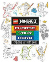Omslag - LEGO Ninjago: Choose Your Hero Doodle Activity Book
