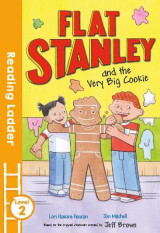 Omslag - Flat Stanley and the Very Big Cookie