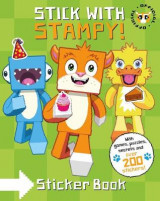 Omslag - Stampy Cat: Stick with Stampy! (Sticker Activity Book)