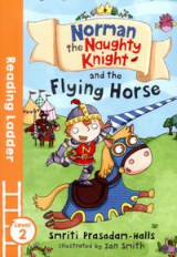 Omslag - Norman the Naughty Knight and the Flying Horse