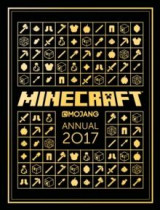 Omslag - The official Minecraft annual 2017