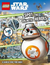 Omslag - LEGO Star Wars: Spot the Galactic Heroes a Search-and-Find Book