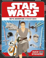 Omslag - Star Wars Rey's Adventure Sticker Book