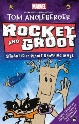 Omslag - Marvel Rocket and Groot: Stranded on Planet Shopping Mall