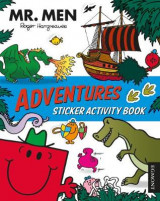 Omslag - MR MEN Adventures Sticker Activity Book