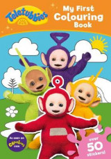 Omslag - Teletubbies: My First Colouring Book
