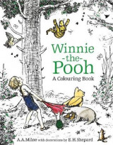 Omslag - Winnie-the-Pooh: A Colouring Book