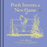 Omslag - Winnie-the-Pooh: Pooh Invents a New Game