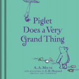 Omslag - Winnie-the-Pooh: Piglet Does a Very Grand Thing