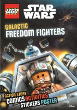 Omslag - LEGO Star Wars: Galactic Freedom Fighters (Sticker Poster Book)