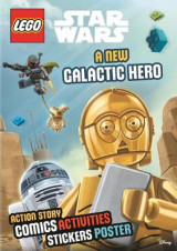 Omslag - LEGO Star Wars: A New Galactic Hero (Sticker Poster Book)