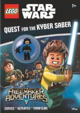 Omslag - LEGO Star Wars: Quest for the Kyber Saber (Activity Book with Minifigure)