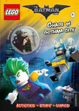 Omslag - The LEGO Batman Movie: Chaos in Gotham City (Activity Book with Exclusive Batman Minifigure)
