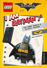 Omslag - The LEGO Batman Movie: I am Batman! the Dark Knight's Activity Journal