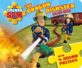 Omslag - Fireman Sam: The Dragon Disaster (A Jigsaw Puzzle Book)
