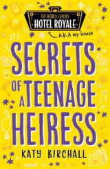 Omslag - Secrets of a Teenage Heiress