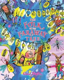 The Folk of the Faraway Tree Gift Edition av Enid Blyton (Innbundet)