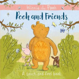 Omslag - Winnie-the-Pooh: Pooh and Friends a Touch-and-Feel Book