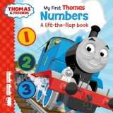 Omslag - Thomas & Friends: My First Thomas Numbers (A Lift-the-Flap Book)