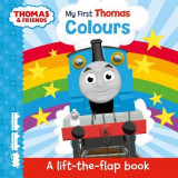Omslag - Thomas & Friends: My First Thomas Colours (A Lift-the-Flap Book)