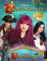 Omslag - Disney Descendants Annual 2018