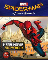 Omslag - Spider-Man: Homecoming Mega Movie Storybook